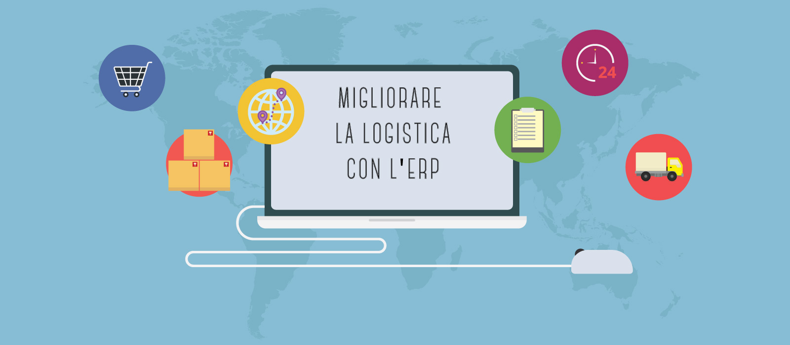 Migliorare la logistica con l'ERP