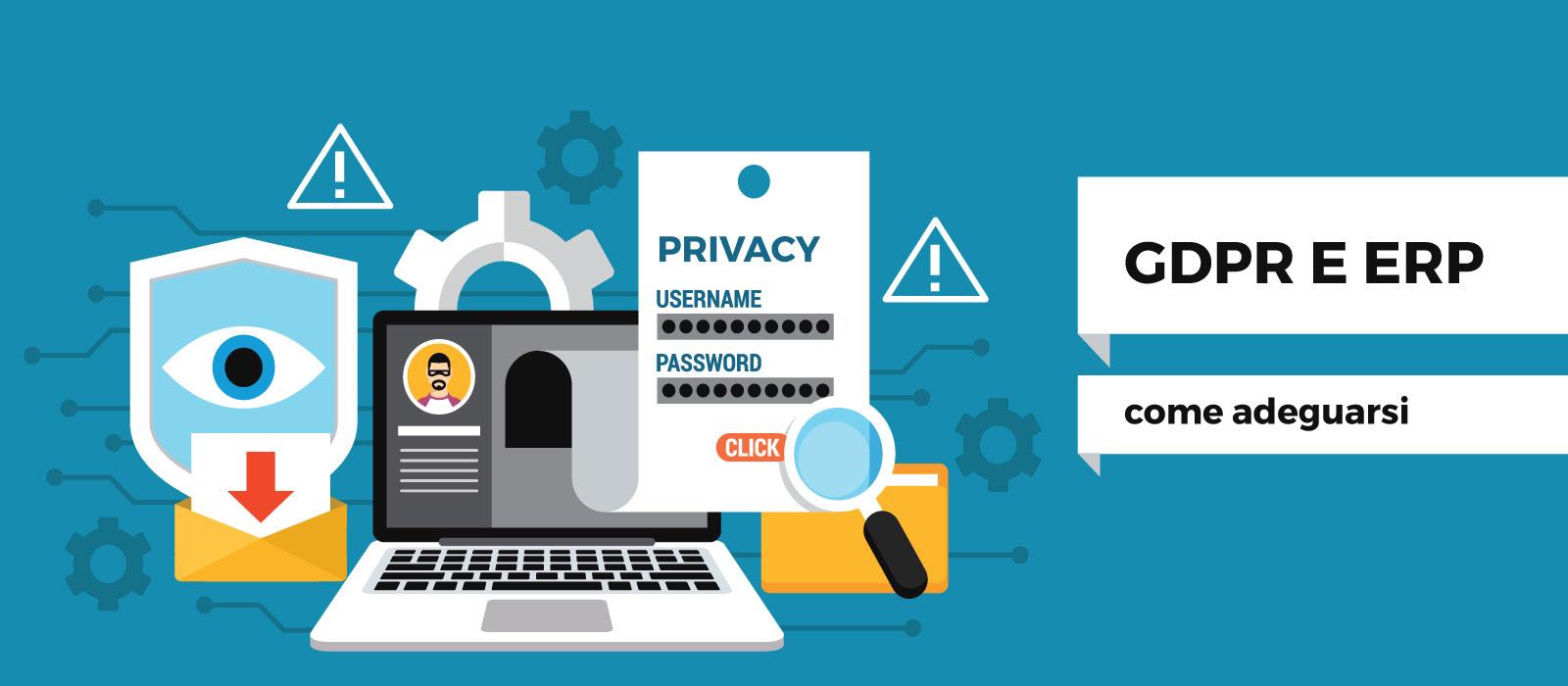GDPR e software gestionali: come adeguare ERP e CRM alla nuova normativa privacy